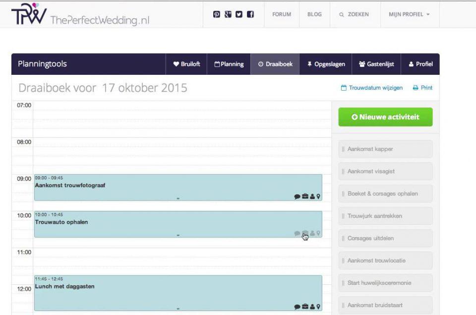 ThePerfectWedding.nl planner | Trouwfotograaf en Bruidsfotograaf Amsterdam